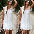 Sexy Women's dress Summer Casual Sleeveless Evening Party Beach Dress Short Mini Dress