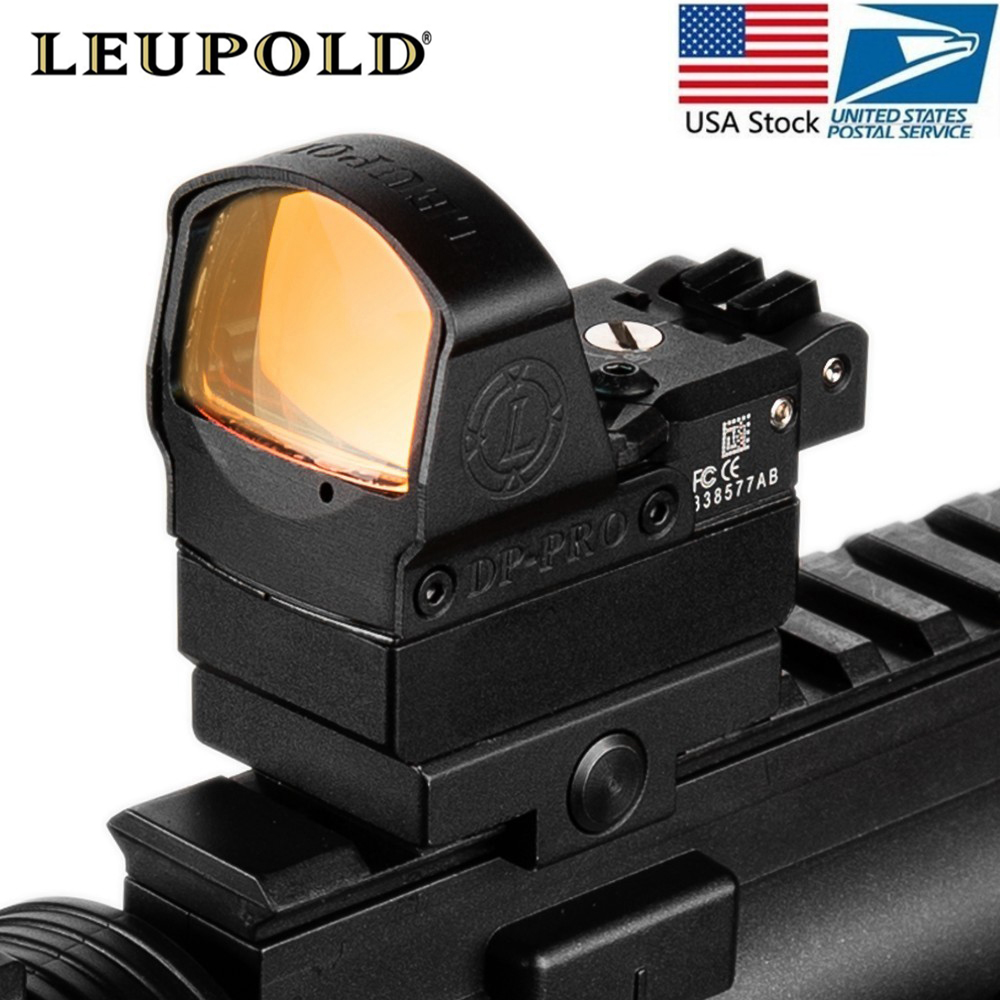 Tactical DP Pro Style Red Dot Reflex Sight Scope With Picatinny Mounts For Pistol Airsoft 1911