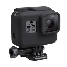 ซิลิโคนกรณีกรอบป้องกัน SHELL กล่องสำหรับ GoPro HERO 7 สีดำ 6 5 อุปกรณ์เสริมชุด