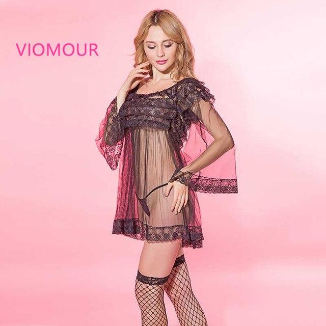 Aliexpress.com: Comprar 6138 Mujeres Sexy Lingerie Hot Erotic Negro ...