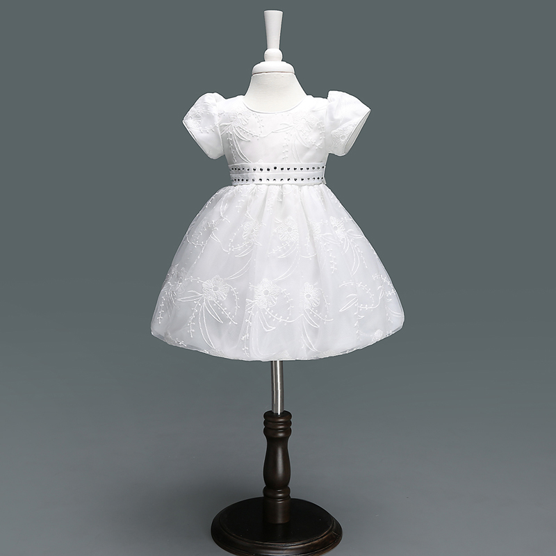 Toddler Girl Baptism Dress Baby Girl 1 Year Birthday Dresses For Girls Kids Wedding Party Wear Newborn Baby Christening Gowns bbwowlin baby girl shoes first walkers cotton crystal baby girls christening dresses for party wedding 90226