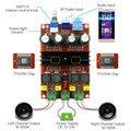 XH-M190 Tubo Digital Amplificador de Potência De Áudio Amplificador de Áudio Placa TPA3116 2.0 Amplificadores Classe D Stereo HIFI amplificador DC12-24V 2*100 W