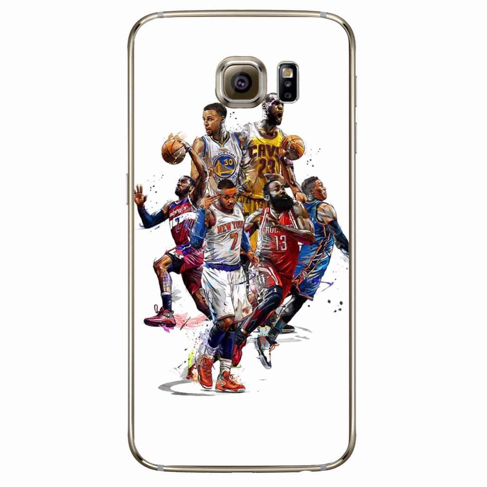9767a6a6dd2c ... ciciber Phone Cases Basketball Curry Harden Kobe For Samsung Galaxy S7  S9 S6 Edge S8 Plus ...