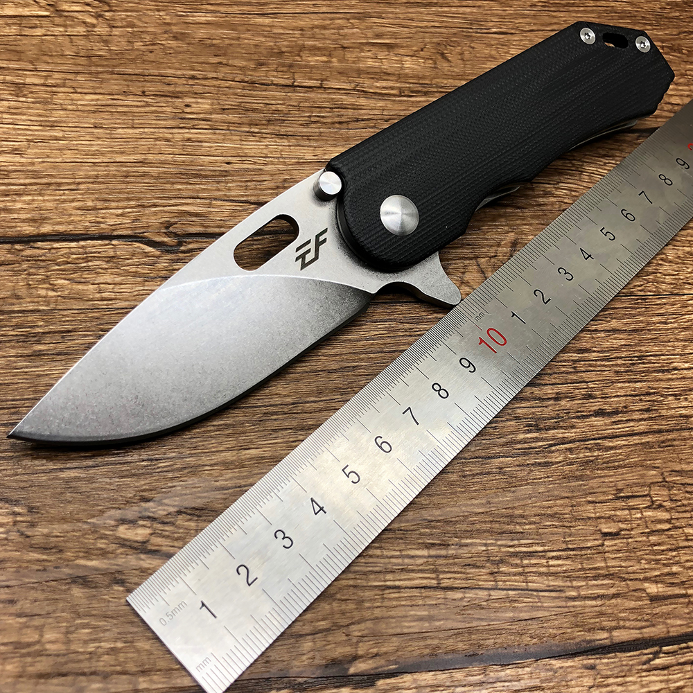 BMT EF32 Survival Flipper pocket folding knife D2 Steel blade + G10 handle outdoor Tactical hunting camping fruit knife EDC Tool hx outdoors tactical folding knife pocket d2 steel with g10 handle 58hrc camping hunting survival kinves edc tools rescue tool