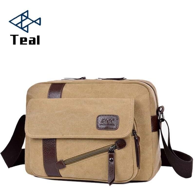 2018 new Men bag briefcase canvas business