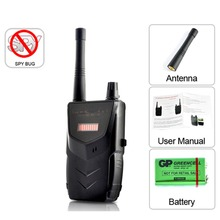 007B Wireless Security Equipment Mini Camera Cam Cell Phone GPS RF Signal Bug Detector Battery Oprated 007B