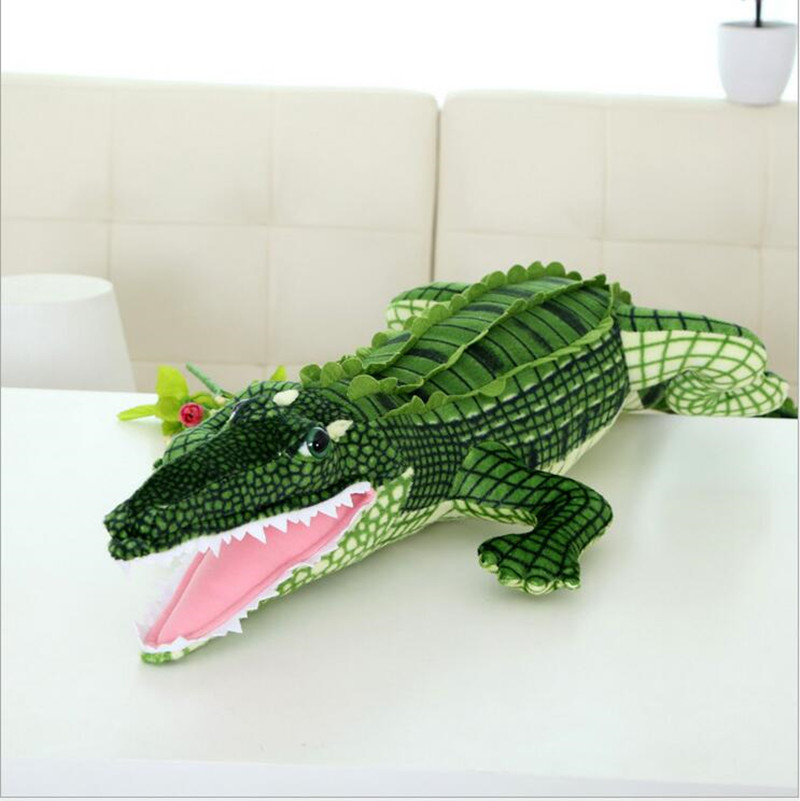 Kawaii 165 cm peluches peluche poupée géante Crocodile jouet pour fille cadeaux grande taille Simulation animaux poupée pour saint valentin