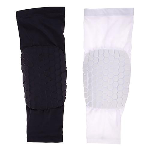 1Pc Unisex Honeycomb Pad Anti-Slip Sport Crashproof Leg Knee Long Sleeve Guard