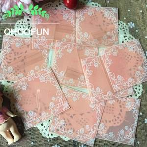 CHOOFUN 100pcs Cookie Decorations Packaging Bags Candy Gift 942697edb3997
