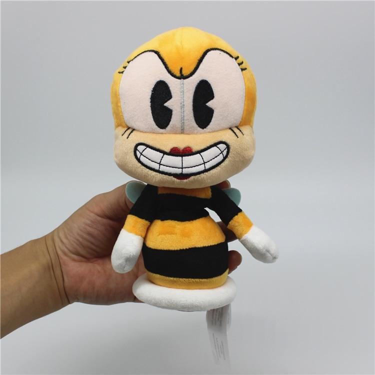 12PCS//Set Cuphead Mughead Ms.Chalice Devil Boss King Dice Figure Toys