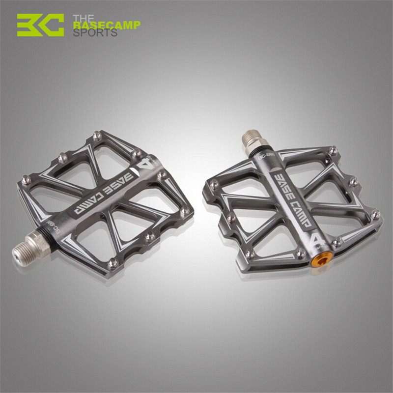<font><b>Basecamp</b></font> 4 Bearings Bicycle Pedal Ultralight BMX MTB Mountain Bike Pedal Anti-slip Sealed Bearing Pedals Bicycle Accessories image