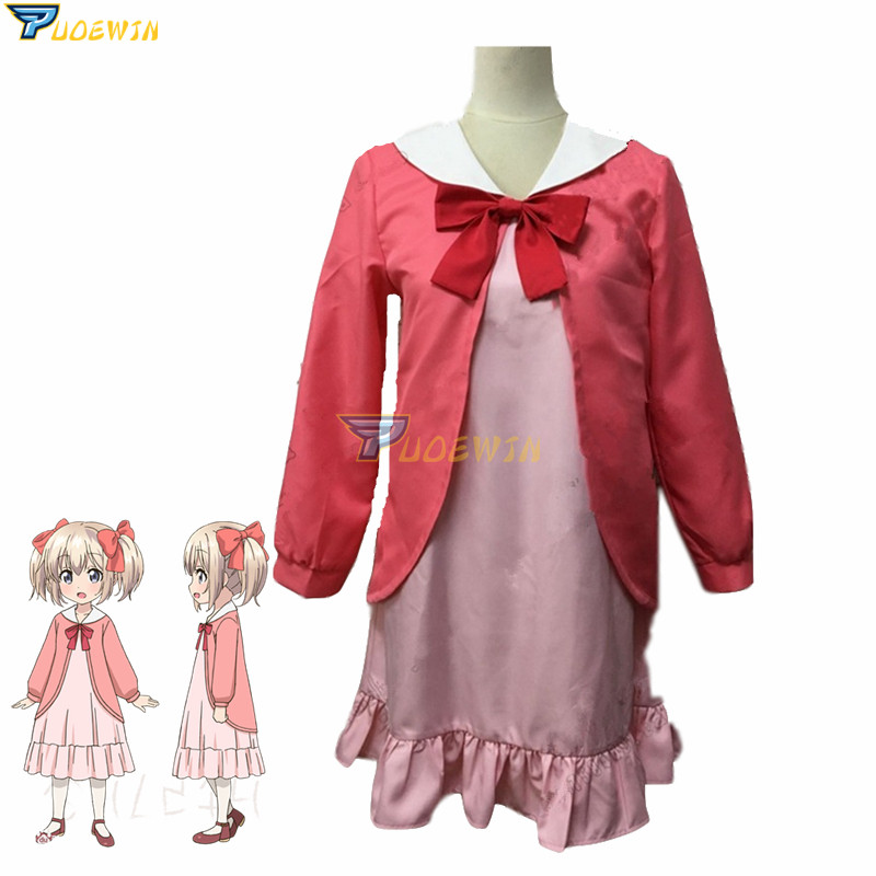 Anime If It's for My Daughter I'd Even Defeat a Demon Lord Latina Cosplay Costume Custom Made
