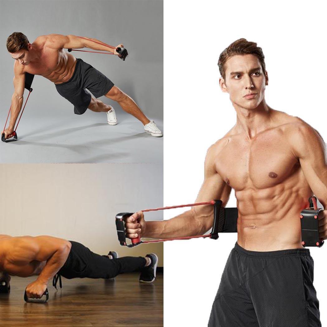 Extracteur exerce-poitrine extenseur Muscle multifonction exercice sport facile à installer utiliser équipement de Fitness