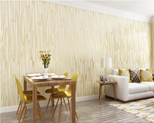 beibehang papel tapiz hudas beauty Modern simple vertical striped background paper high staple velvet de parede wallpaper