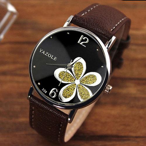 YAZOLE Ladies Wrist Watch Women 2018 Brand Famous Female Clock Quartz Watch  Hodinky Quartz watch Montre Femme Relogio Feminino-in Quartz Watches from  ... 51dace80c0c