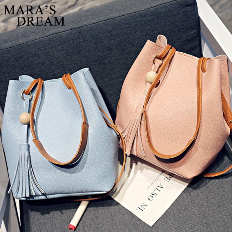 mara o sonho para mulheres Women Bag Main Material : High Quality PU + Polyester Women Candy Color Crossbady Bag