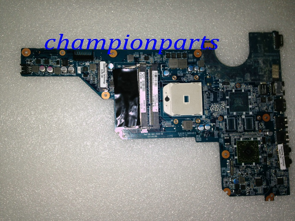 ФОТО DA0R23MB6D1 REV : DNEW +HOT IN RUSSIA Free Shipping   Laptop Motherboard For HP Pavilion G7 G6 G4 NOTRBOOK PC  649948-001