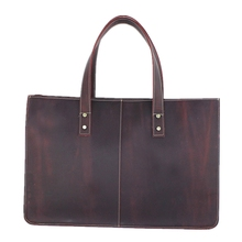 female men's big greased leather restro travel Shoulder hand messenger party shopping book school college laptop 15 inch Bags