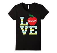 Love Spanish Teacher T Shirt Funny Gift For Teacher Casual Funny T Shirt Fashion Brand Harajuku