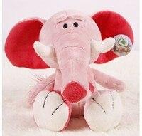Peluche 25 cm elefante rosa giocattolo della peluche Concetto di Poker elefante bambola morbido regalo w3503