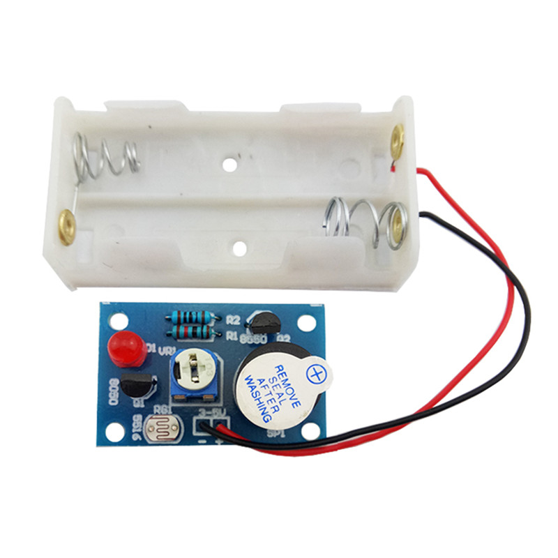 DIY Kit Photosensitive Sound and Light Alarm Suite Electronic Productio