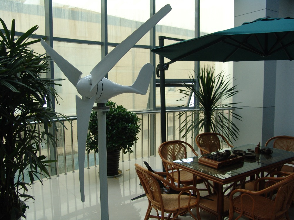 ¡Gran oferta! Mini turbina de viento de 300 w/molino de viento/generador de viento para el hogar y el barco con controlador de cargador