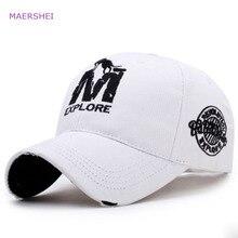 MAERSHEI Fashion couple embroidered baseball cap men's outdo