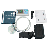 Top Fast 24 hrs Ambulatory Blood Pressure Monitor Holter ABPM cuff + PC software