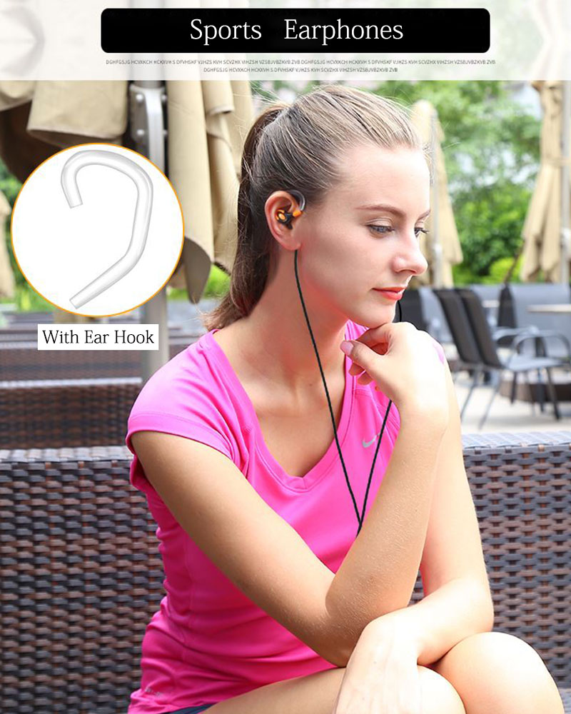 In ear Earphone T600 with microphone heavy bass stereo sound quality wired headset for mobile phone mp3 computer fone de ouvido