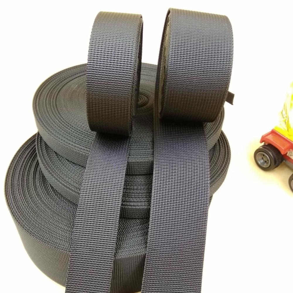 19,25,32,38,50mm Polypropylene Webbing Strapping Bags Straps Weave Nylon Tape UK