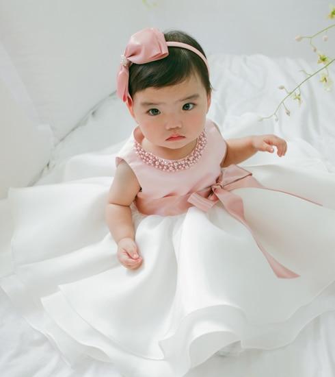 Baby Girl Infant dress wedding Christening Princess ...
