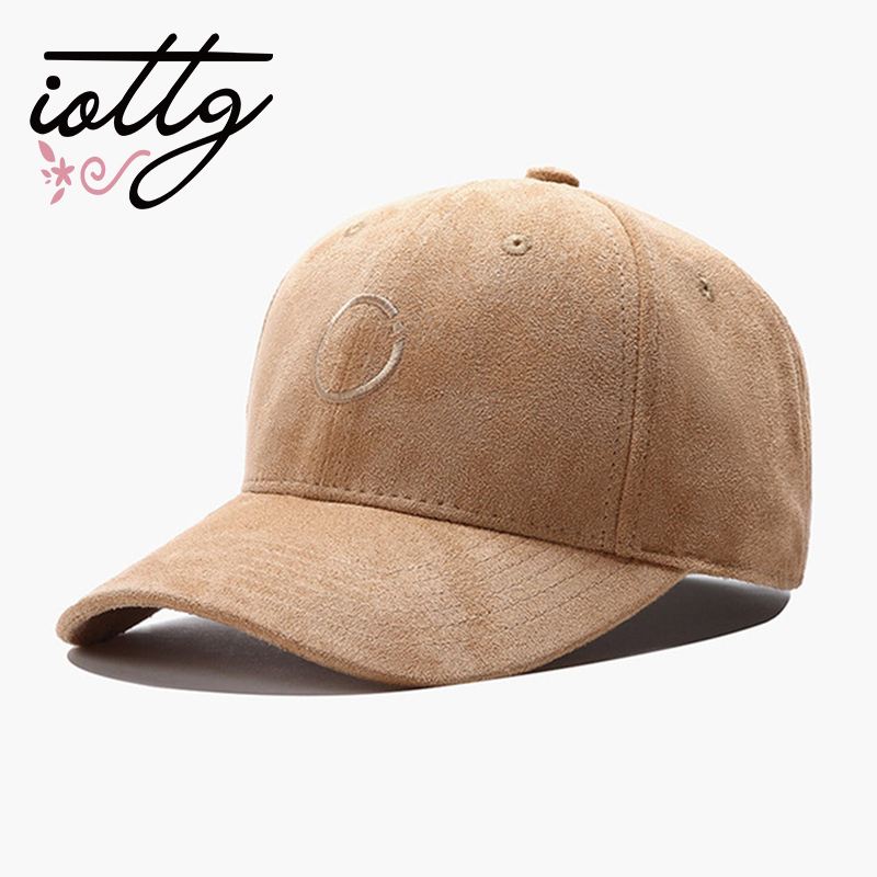 IOTTG 2018 New Arrival High Quality Suede Men Women Baseball Cap Fashion Embroidery Hip Hop Cap Hats Bone Snapback new arrival women turban hats flower dome hat head wrap chemo hats bandana hijab knotted indian cap