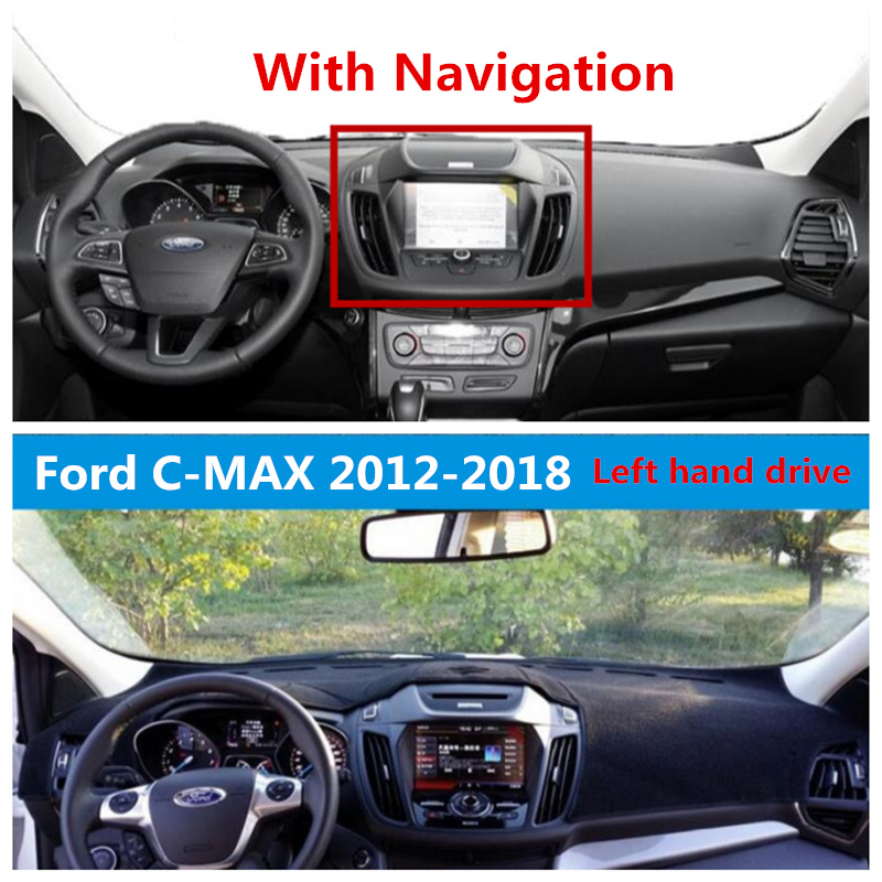 Ford C Max Leather Seats: TAIJS Auto Dashboard Cover For Ford C MAX 2012 2018 With