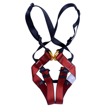 E0040 Children Safety Belt High Quality Full Body Harness for Rock Climbing Exploring Outdoor Sports outdoor climbing safety belts safety equipment harness climbing belt waist safety fashion solid belt 500kg high quality gm1413