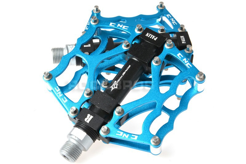 "RockBros Cycling Pedals MTB BMX DH Downhill Pedals Platform Pedals 9//16/"" Silver"