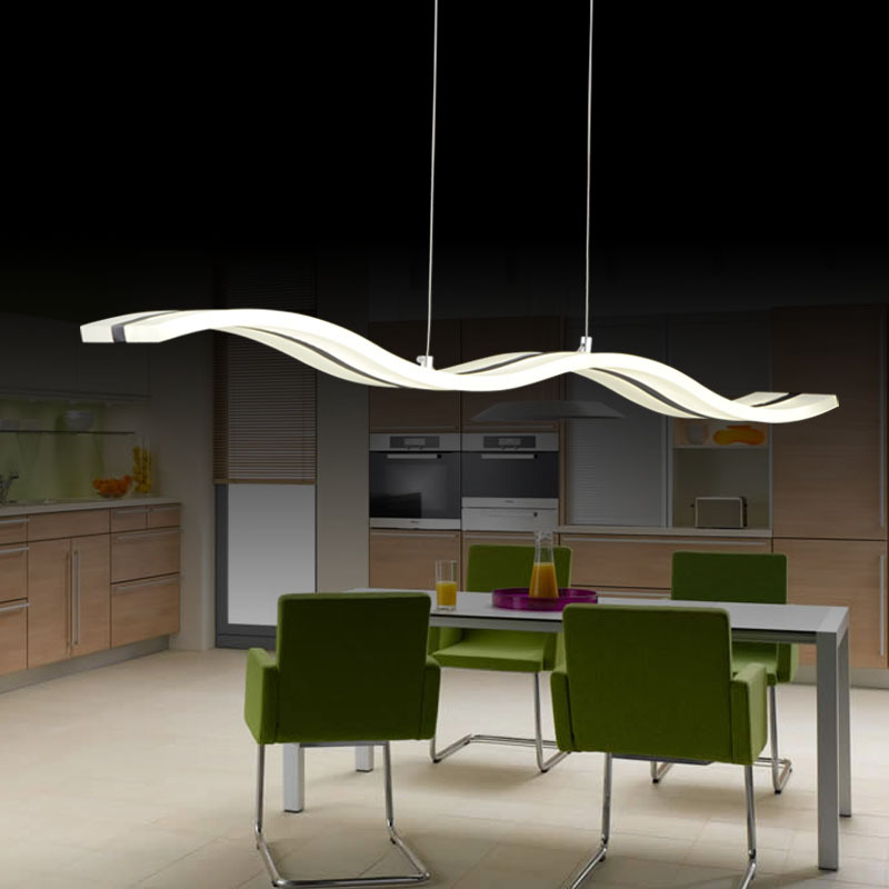 Blue time modern pendant lights for dining room white acrylic led blue time modern pendant lights for dining room white acrylic led pendant lamp contemporary wave design l100cm h150cm in pendant lights from lights mozeypictures Images