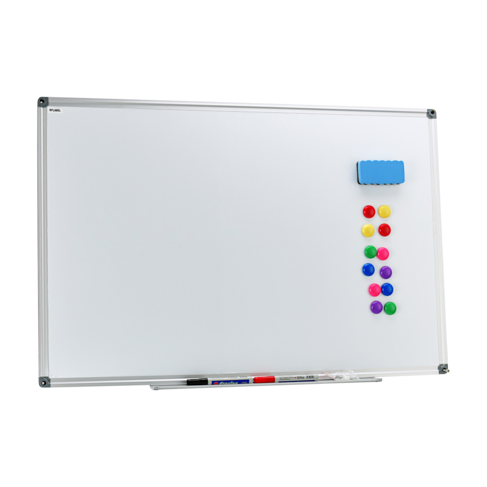 new office school medium large magnetic whiteboard dry wipe drawing board 36 x 24 inches silver