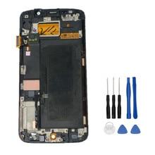 Дешевые Новый испытания ЖК-дисплей для Samsung Galaxy S6 Edge g925 G925F sm-g925f Дисплей Сенсорный экран с рамкой планшета сборки + Инструменты