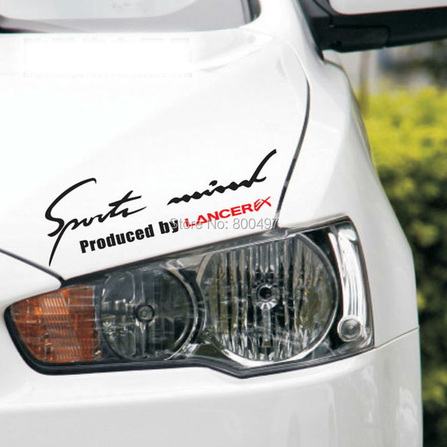10 X New Style Sports Mind Produced By Lancer Ex Sports Stickers Car