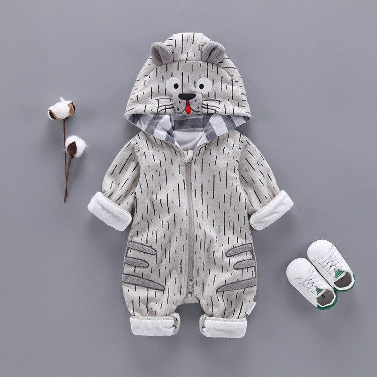Fashion Animal Baby Romper Tiger Boy Girl Clothes 4