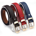 Mujeres Cinturones de Marca de Lujo Nueva Moda de Imitación de Cuero Para Hombre del Diseñador Cinturones de Color Sólido de La Correa Para Los Pantalones Vaqueros Talla 110*2.9 cm