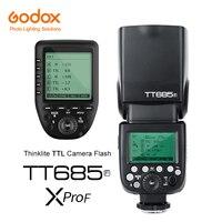 Godox tt685f 2.4 г HSS TTL GN60 Вспышка Speedlite + XPro F триггера передатчик Комплект для Fuji x pro2 x t20 x T2 GFX 50 s XT1