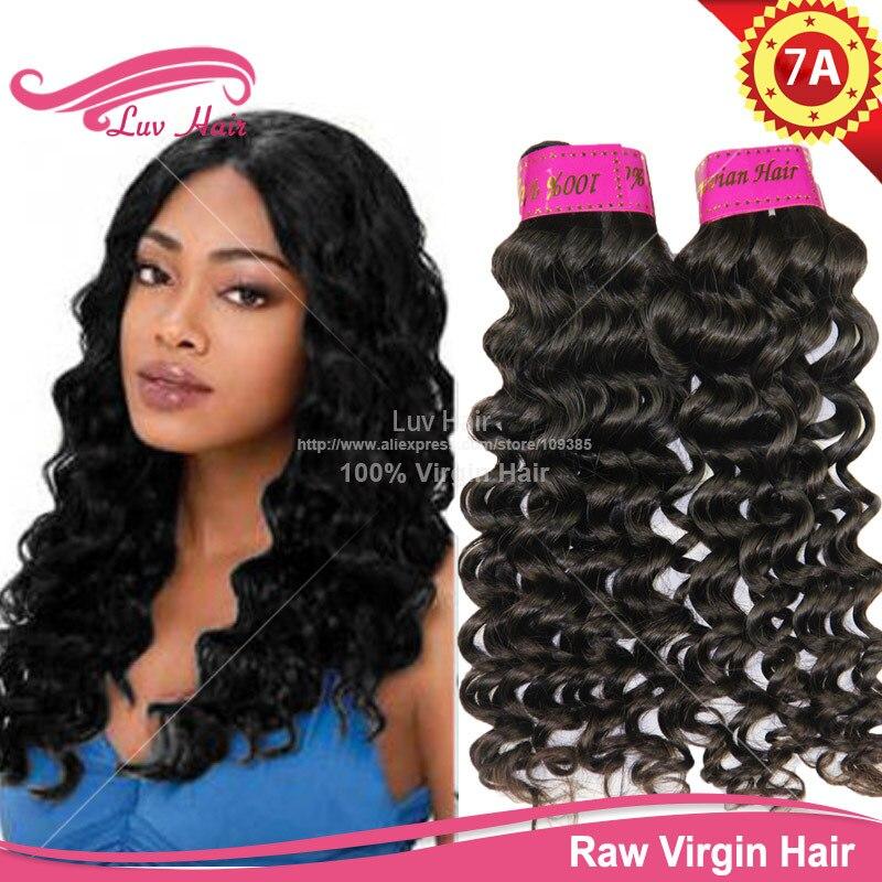 Virgin Hair Deep Wavy Lima Peru Peruvian Deep Wave Hair Extension