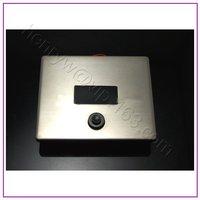 L16130 Luxury Brass Material Sensor & Manual 2 Function of Automatic Sensor Toilet Flush Valve