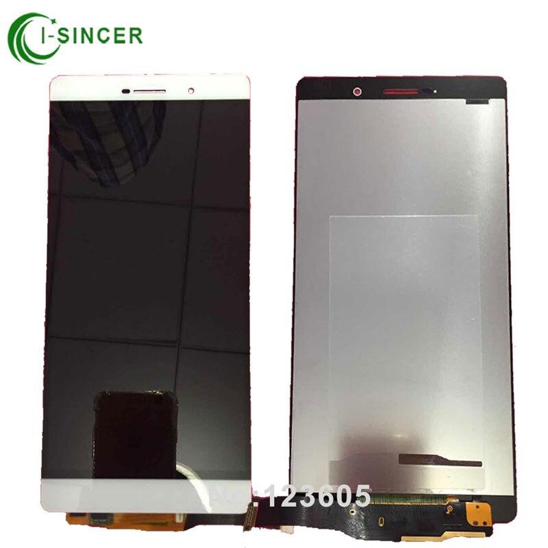 imágenes para Blanco Negro Oro Para Huawei P8 max LCD de Pantalla Con Pantalla Táctil Digitalizador Asamblea Envío gratis
