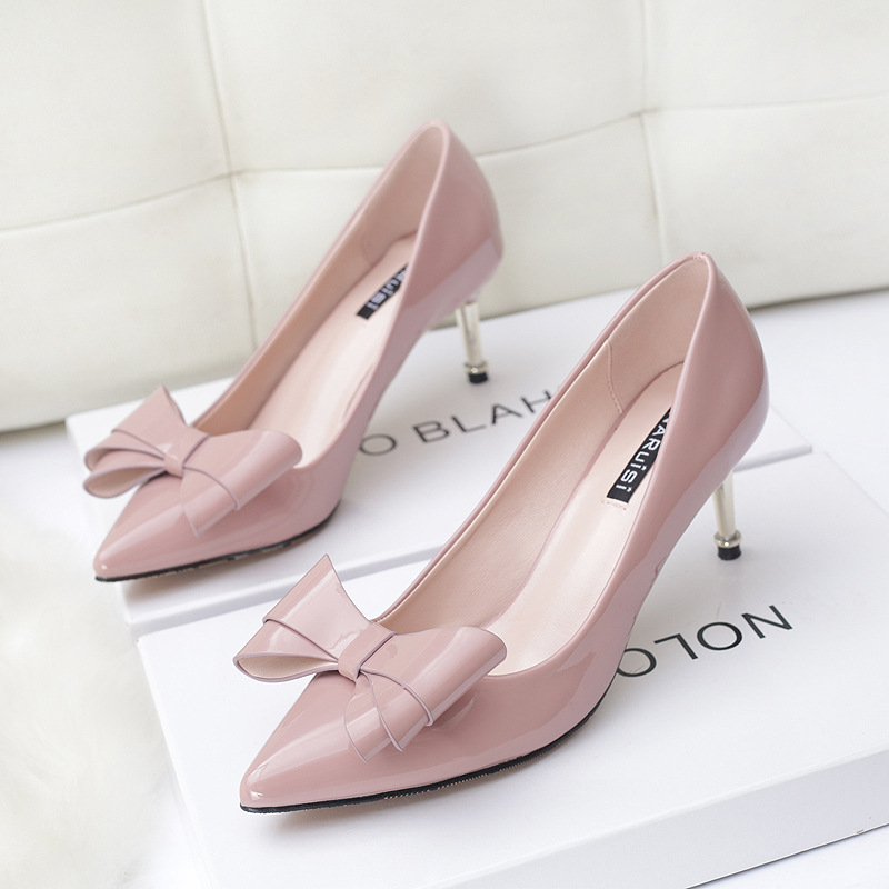 Popular Pink Bow Heels-Buy Cheap Pink Bow Heels lots from China ...