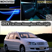NOVOVISU For TOYOTA Ipsum Picnic SportsVan Avensis Verso interior Ambient Light Atmosphere Fiber Optic Band Lights Inside Door