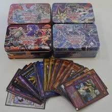 41 шт./компл. Yu-Gi-Oh! игровые карты Классическая игра юджиох английские карточки коробки коллекция карт с флеш-карта и коробка олова металла игрушки