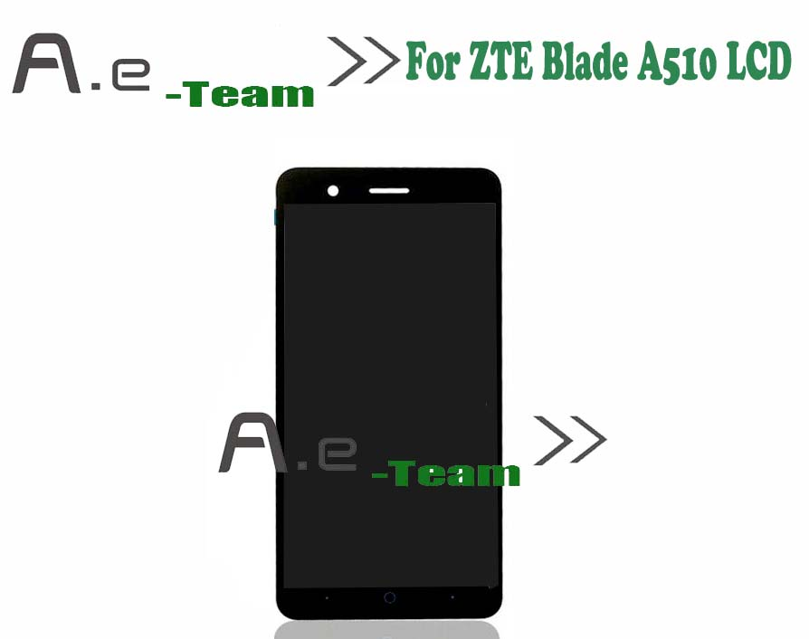 100% New For ZTE Blade A510 LCD Screen Display Touch Screen Replacement Screen For ZTE Blade A510 Smartphone In stock+tools for zte blade a610 lcd display touch screen 100