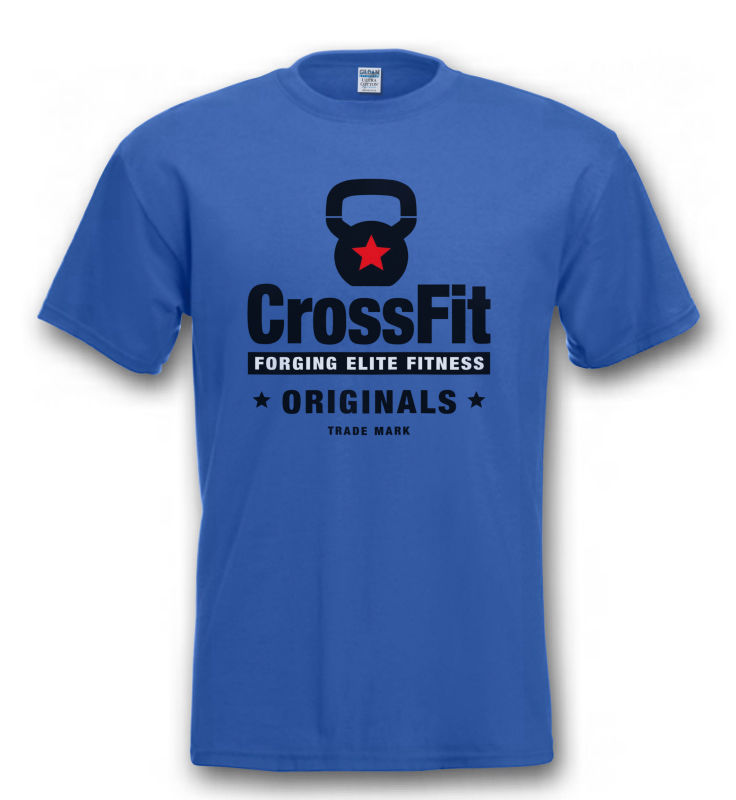 KETTLEBELLS CROSSFIT   T     SHIRT   Train Fitness Weightlift Barbell + to 4XL New   T     Shirts   Funny Tops Tee New Unisex Funny